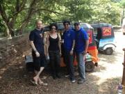 Matt Dickens (Adventurists), Gul Panag, Rakesh, Rama & Chunga Wagon